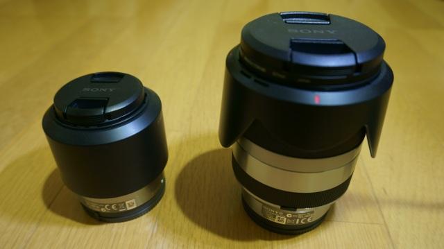 SEL50F18とSEL18200