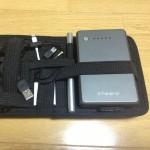 大量のデジタル小物をまとめて持ち運び。GRID-IT!がとても便利すぎた件