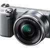 SONY Eマウントカメラ α5000とNEX-5Rの仕様比較
