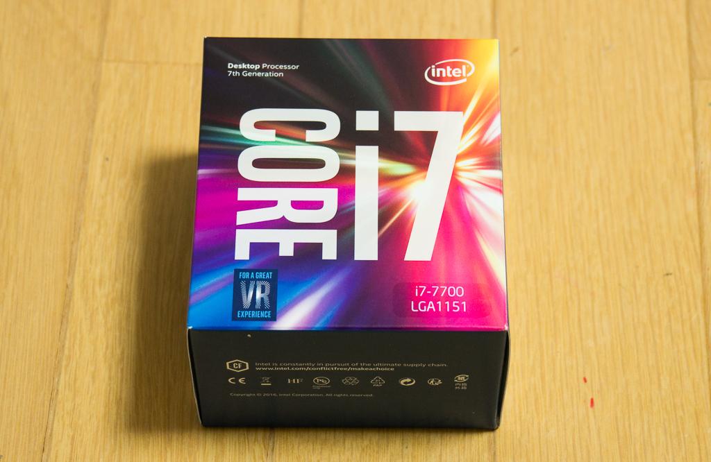 自作パソコン2018_CPUはCore i7