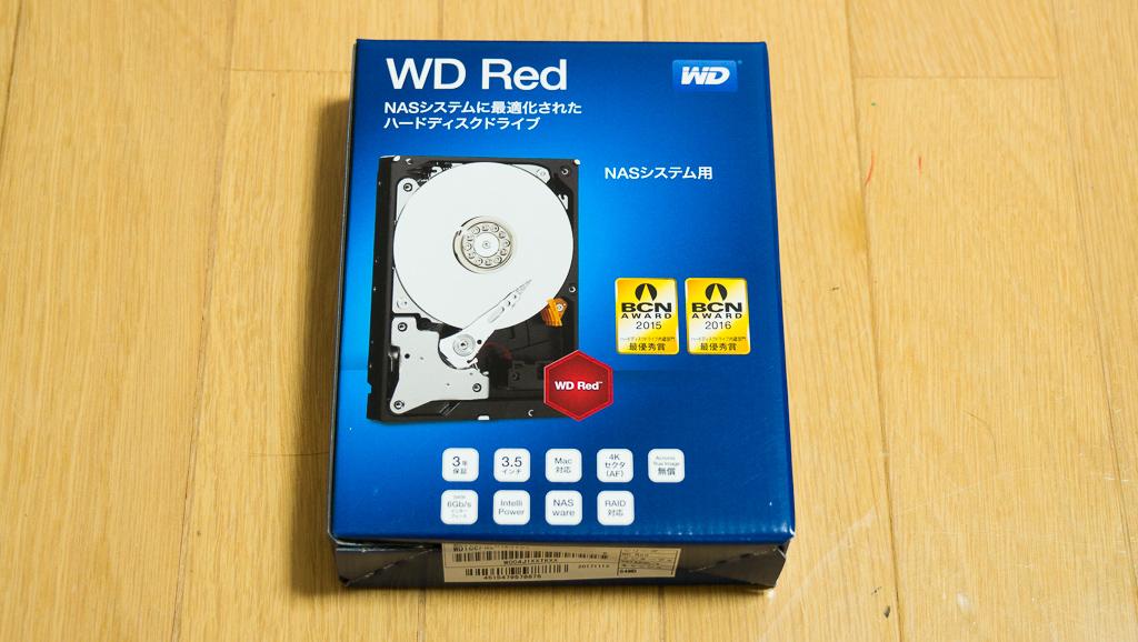 自作パソコン2018_HDD