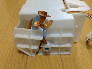 三菱冷蔵庫の製氷機