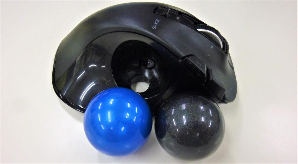 ロジクールボールとエレコムボール