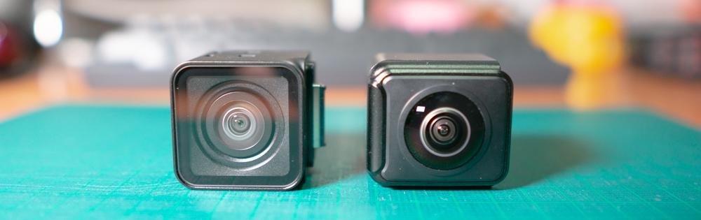 左:4Kモジュール 右:360度モジュール