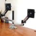 エルゴトロンLX  モニターアームの設置方法